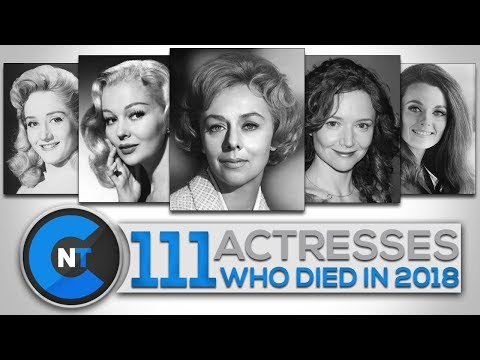 List of Actresses Who Died In 2018 | Latest Celebrity News 2019 (Celebrity Breaking News)