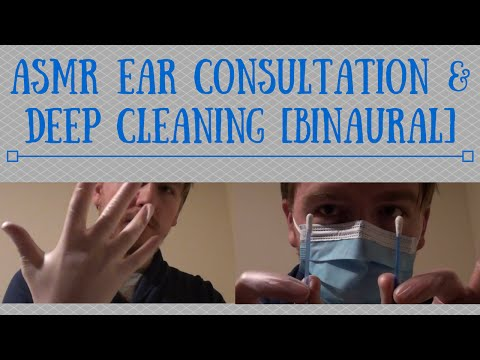 ASMR Ear Consultation & Deep Cleaning [Binaural]