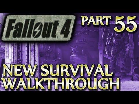 Ⓦ Fallout 4 New Survival Walkthrough ▪ Part 55: Institutionalized, Virgil's Serum