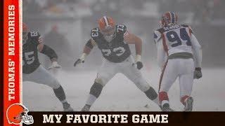 The Snow Bowl: Joe Thomas' Unforgettable Memories | Cleveland Browns