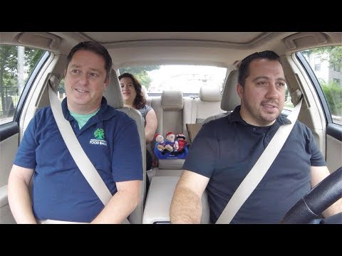 """Car Pooling with Ben"" - Episode 54: RI Community Food Bank"