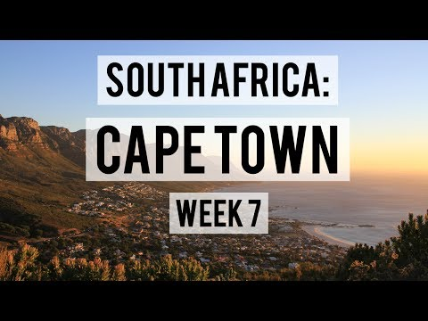 SOUTH AFRICA: CAPE TOWN WEEK 7 | HIKING TABLE MOUNTAIN AND LION'S HEAD