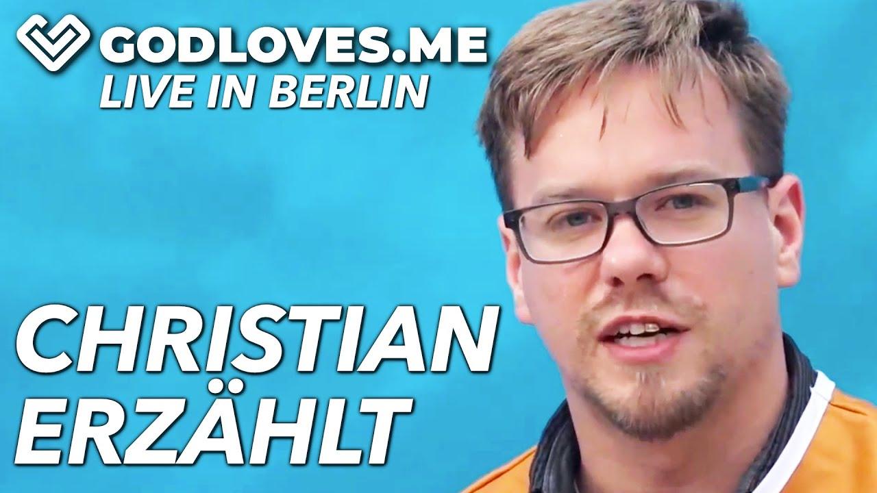 CHRISTIAN ERZÄHLT AUS SEINEM BERUFSLEBEN   God Loves Me   Live in Berlin