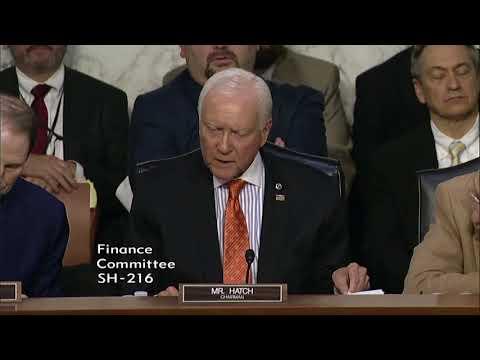 Senate Finance Committee Passes Hatch Tax Reform Proposal