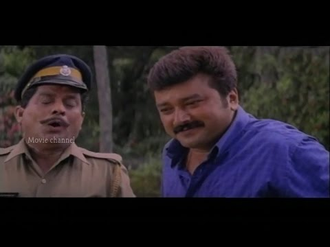 Annalla Pennalla | NJANGAL SANTHUSHTARANU | Super Hit Malayalam Movie Song | Jayaram | Abhirami