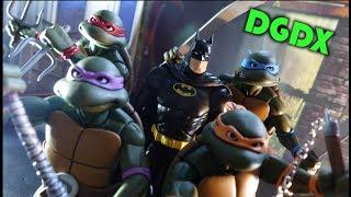 BATMAN and the TEENAGE MUTANT NINJA TURTLES: Action Stop Motion Animation *HD*