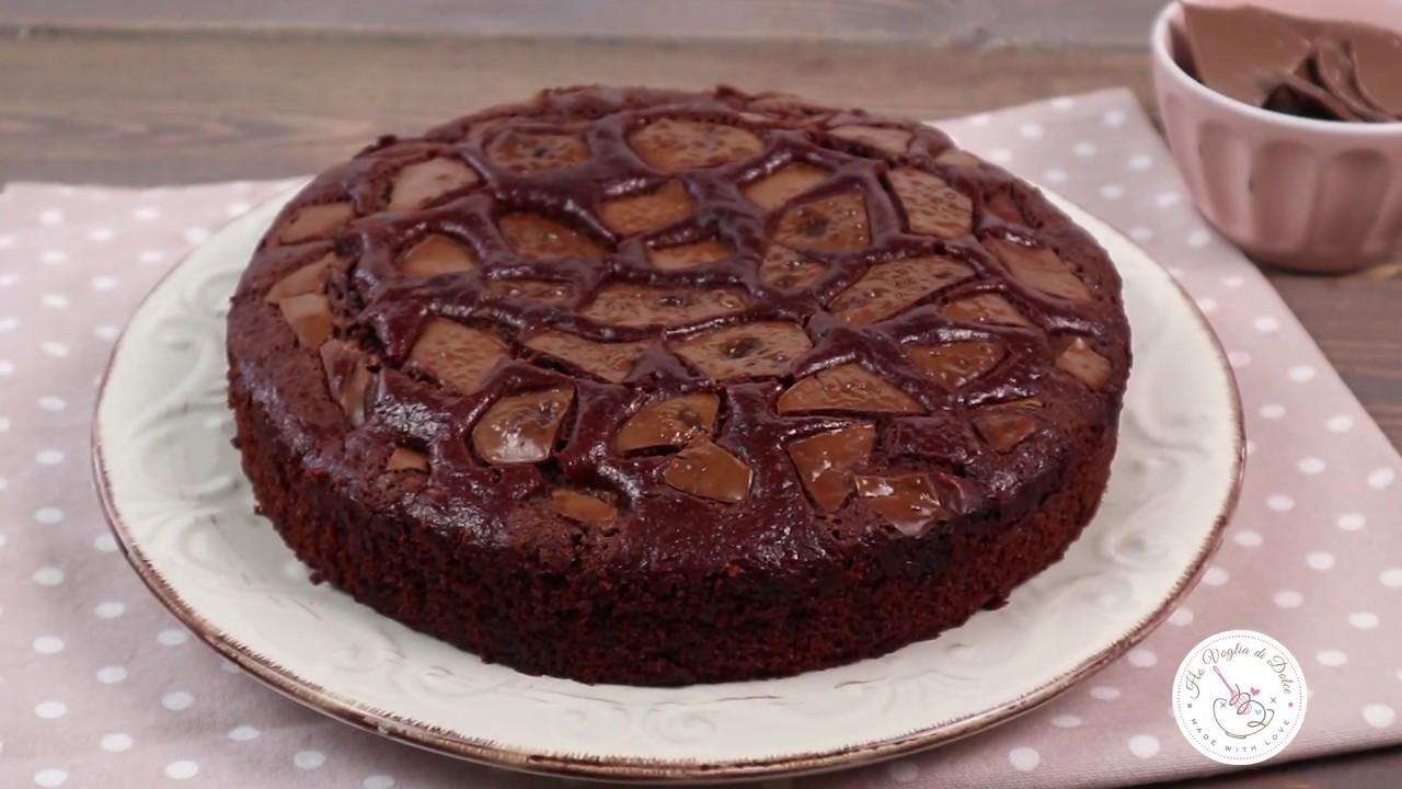 Torta Senza Uova Al Cioccolato.Torta Al Cioccolato Senza Uova Ricetta Facile E Veloce Ho Voglia Di Dolce