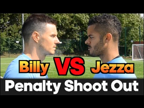 Billy VS Jezza   EPIC Penalty Shoot Out BATTLE