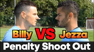 Billy VS Jezza | EPIC Penalty Shoot Out BATTLE