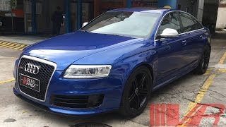 2010 Audi RS6 Sedan; Exterior, Interior e Test Drive
