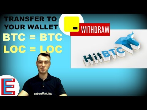 How to withdraw bitcoin( HitBTC to Coinbase)