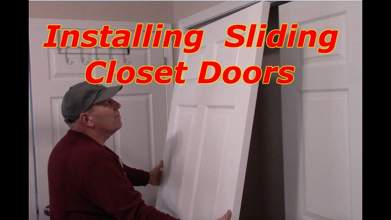 How To Install Byp Sliding Closet Doors You