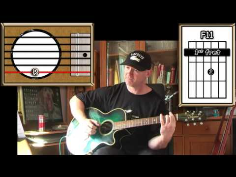 Sometimes When We Touch Dan Hill Acoustic Guitar Lesson Easy
