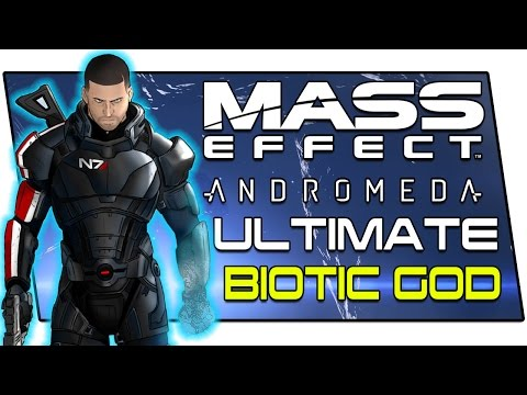 The Most Ridiculously OP Biotic Build in Mass Effect Andromeda - Ultimate Adept Build: Insanity