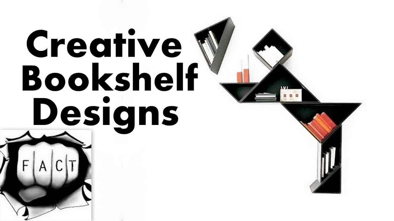 10 most creative bookshelf designs - Storyline Bookshelf