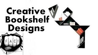 10 Most Creative Bookshelf Designs