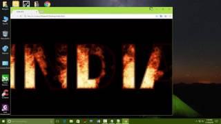 make a fire text via HTML Mp3