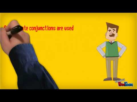 Conjunctions video created by Raj Shah