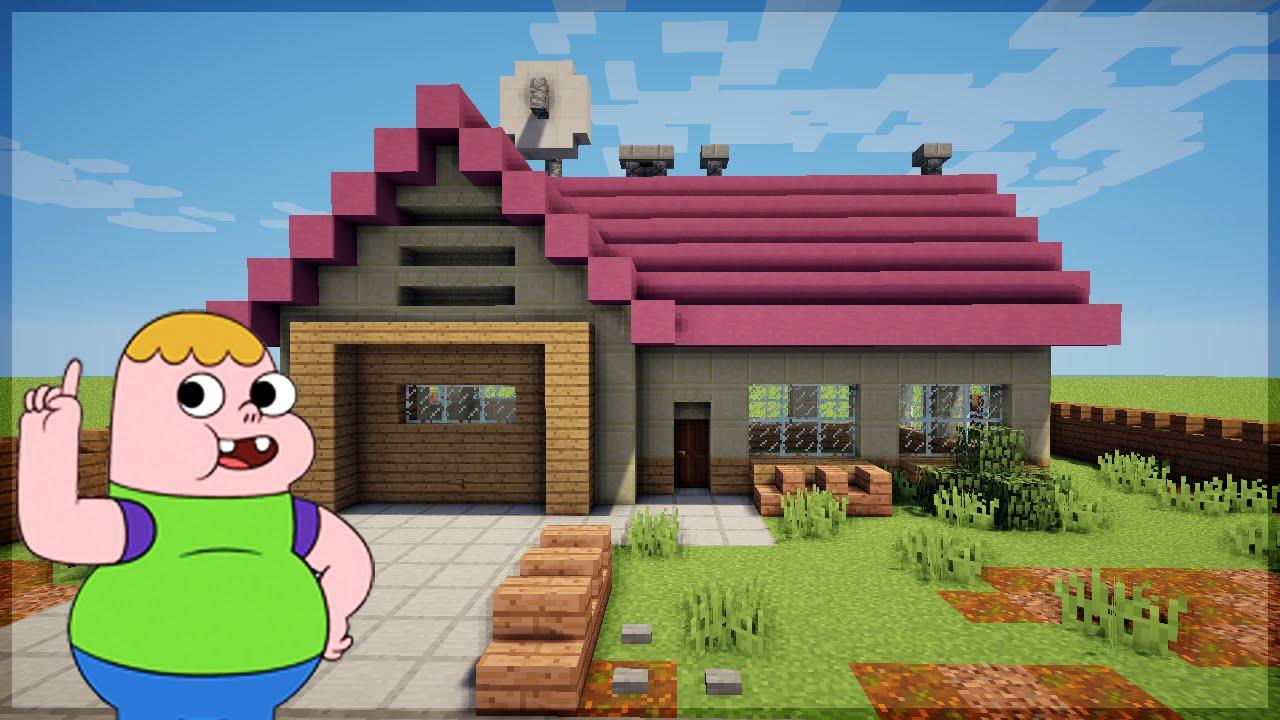 Minecraft construindo a casa do clar ncio o otimista for Imagenes de tumbados de casas