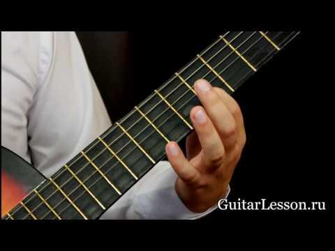 Как правильно зажимать струны на гитаре для начинающих