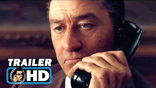 THE IRISHMAN Trailer (2019) Robert De Niro, Al Pacino Netflix Movie