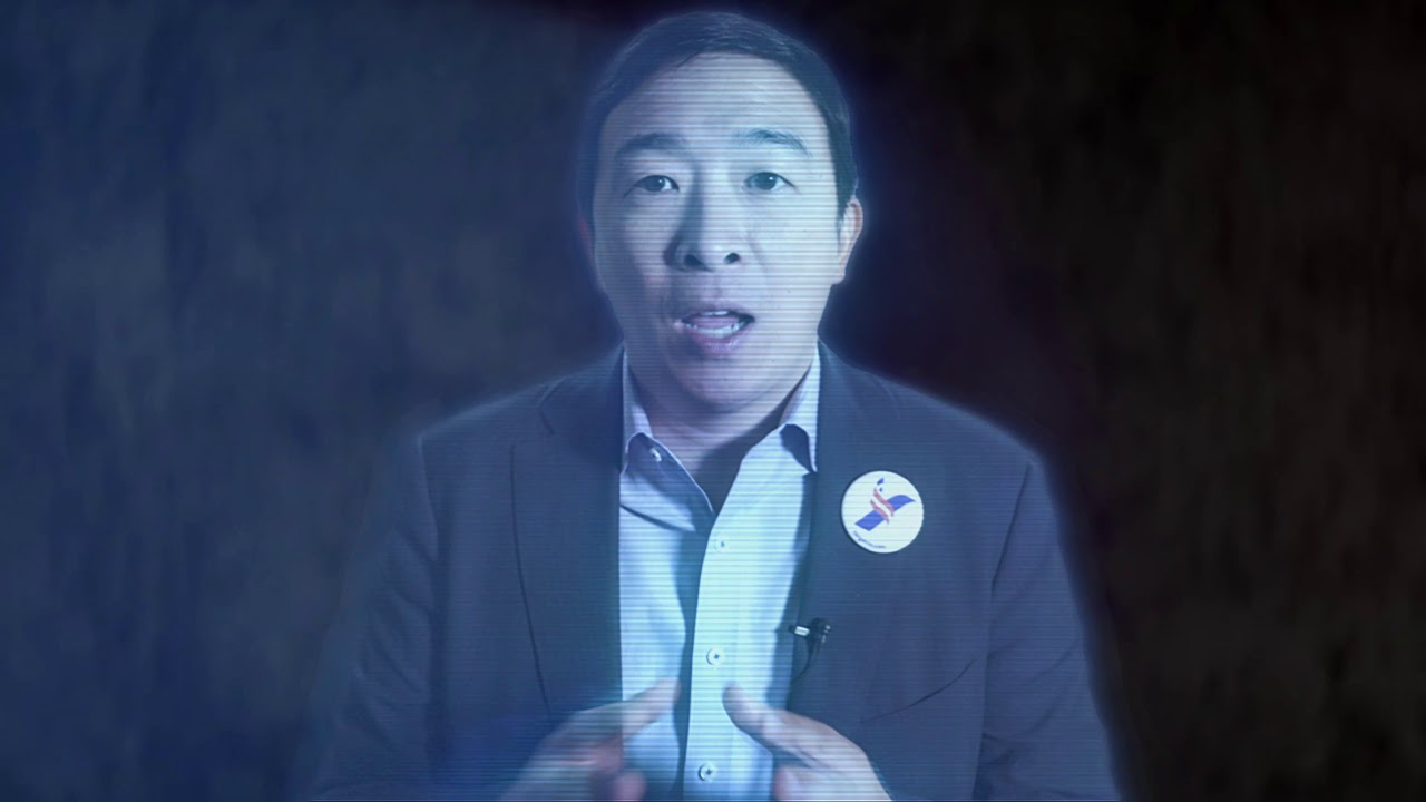 Help Us Yang Gang - You're Our Only Hope