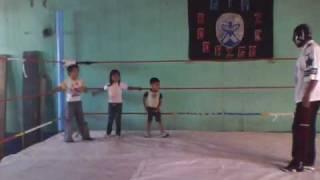 GYM   Rodriguez  clases de lucha libre con los niños