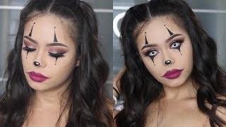 Easy Clown Halloween Makeup Tutorial