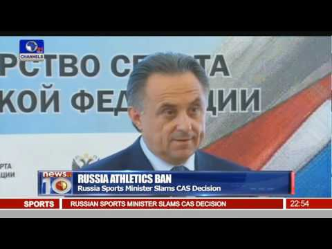 News@10: Russia Loses Appeal Over Athletics Ban 21/07/16 Pt.4