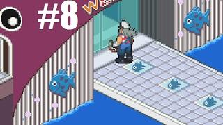 Let's Play Mega Man Battle Network 6 Cybeast Falzar #8 - The Aquarium
