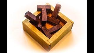 Four T Puzzle Solution