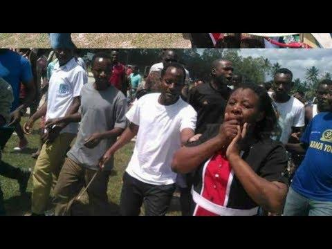 Mwanamke aliyekutwa bila nguo katikati ya barabara DSM...kisa chake hiki