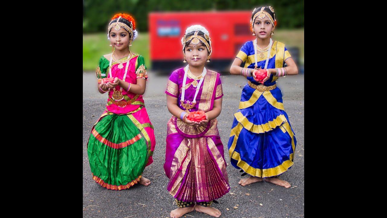 how to make bharatanatyam costume