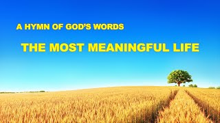 """The Most Meaningful Life"" 