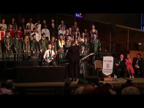 Victory High School Choir - 2019 Graduation - Somebody to Love