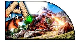 Ark Survival Evolved - САМАЯ ЭПИЧНАЯ КАРТА В АРК!! - THE VOLCANO!