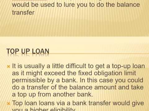 Personal Loan Balance Transfer