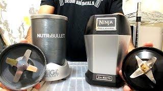 nutri ninja blade vs nutribullet blade