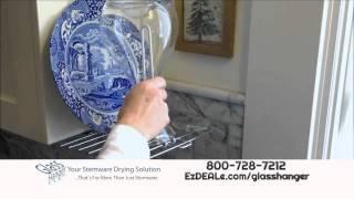 """Glass Hanger Drying Rack """"as Seen On Tv"""" Offer"""