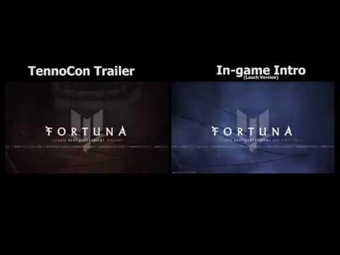 Warframe Fortuna Intro Comparison [TennoCon Vs Launch Version]