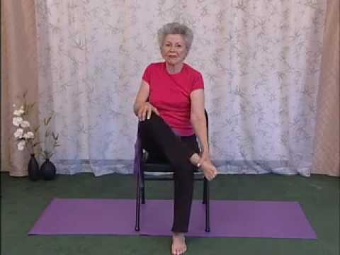 youtube chair yoga toddler walmart feet and legs stretches by mary cavanaugh
