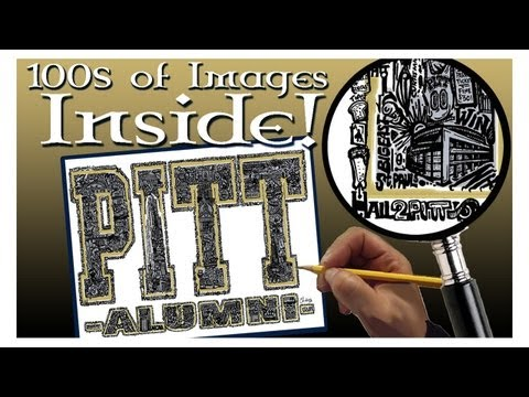 Amazing PITT Artwork! - 100s of IMAGES INSIDE! - hand drawn