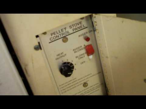 Whitfield Pellet Stove Operating Youtube