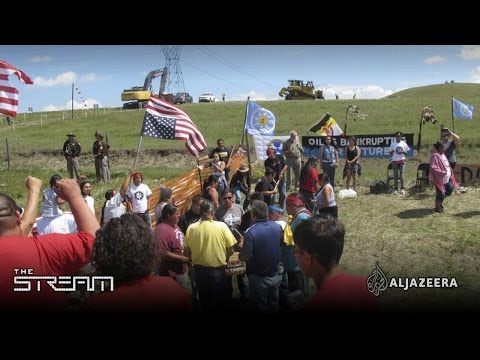 The Stream - Pipeline standoff at Standing Rock
