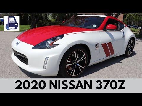2020 Nissan 370z 50th Anniversary Edition Walk Around & Review