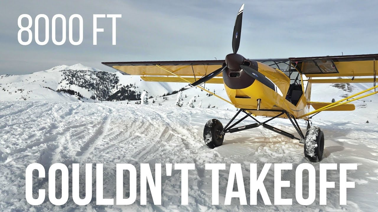 8000 FT mountain LANDING - The Worst Place To Land My KITFOX!! Landed BUT couldn't takeoff :(