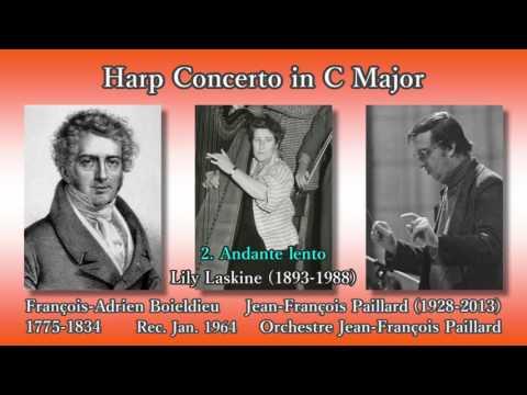Boieldieu: Harp Concerto, Laskine & Paillard (1964) ボイエルデュー ハープ協奏曲 ラスキーヌ