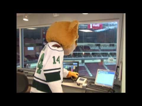 Iowa Wild Crash Chronicles - Goal Horn Test