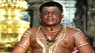 Madhura Meenakshi Telugu Movie Songs || Challani Thalli ||  Vijaykanth || Radha || Devisri