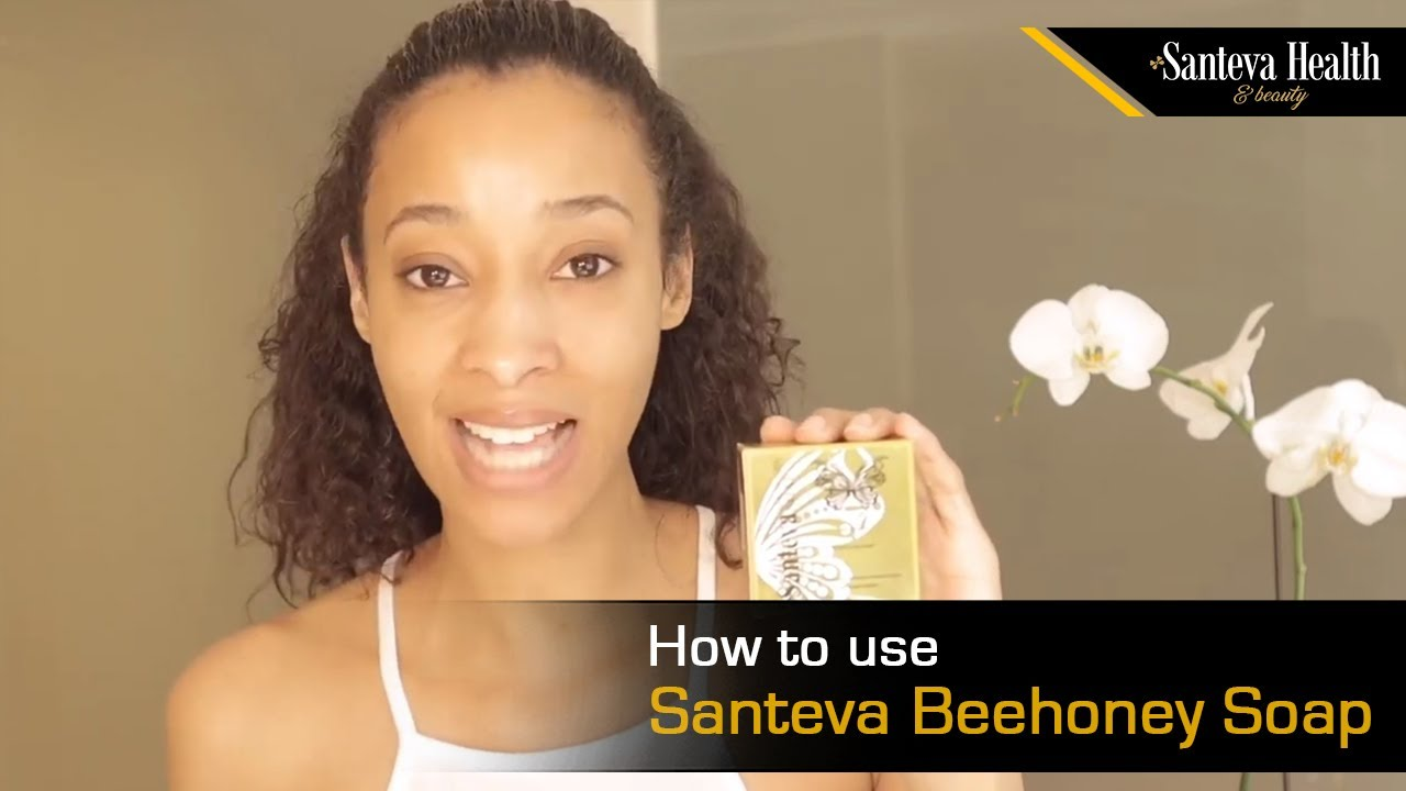How to use Santeva Beehoney Soap